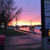 Sunrise in Streetsville