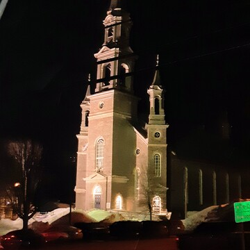 Eglise illuminee