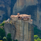 2019....Meteora located in Central Greece. Six monasteries have been built .
