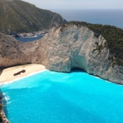 2019...Zakynthos is another beautiful Greek island located in the ionian sea.