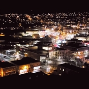 Corner Brook at night