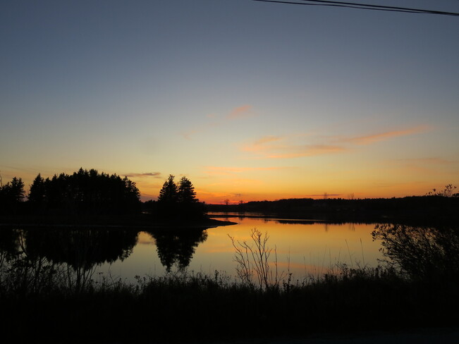 Sunset . Corkums Island, Nova Scotia