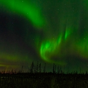 Aurora Borealis dancing the night away