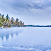 FREEZE UP LAKE TEMAGAMI