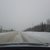 Going to Whitecourt from Swan Hills