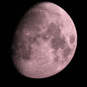 Gibbous Moon December 7th