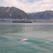 Aug.2019..On the way to beautiful Alaska and other cruiseship seen in distance