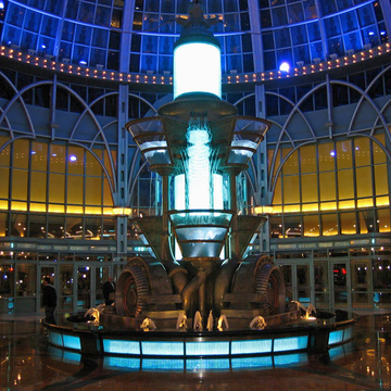 Nikola Tesla Fountain ~ Fallsview Casino Resort