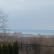 Lake Ontario from Stoney Creek escarpment