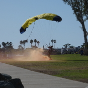 Skydiving demonstrations