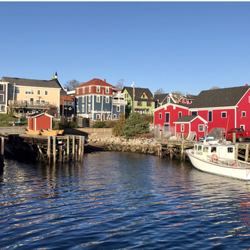 Glorious Day in Lunenburg, NS