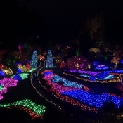 Christmas at Butchart Gardens on Vancouver Island