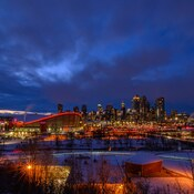 Calgary's Saturday night