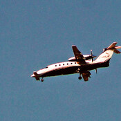 Very unusual aircraft inbound to Oshawa Airport!
