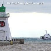 The Port Dover Ontario Wave