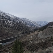 Highway 1 near Lytton