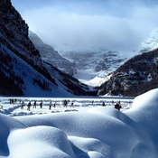 Lake Louise Pond Hockey