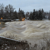 Flooding in New Hamburg 1/12/20