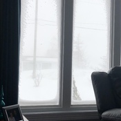 Blizzard in Victoria, NL