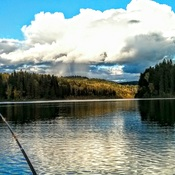 September afternoon on a Cariboo lake