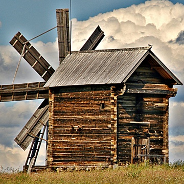Which Country has this type of Windmill?