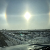 Sun Dogs - Hume, SK
