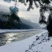 Winter on the Fraser River