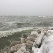 Storm Sat On The Shores Of Lake Ontario