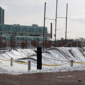Queens Quay in winter