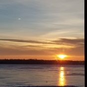 lake scugog sunrise