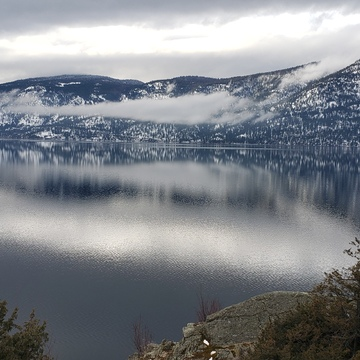The Calm over the Okanagan in Lake Country