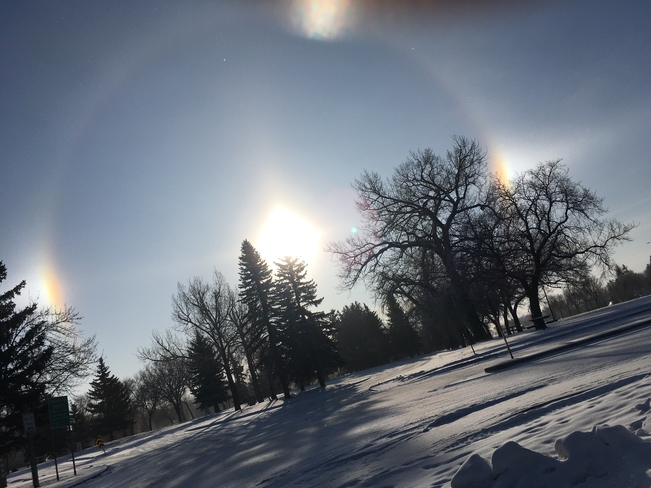 Sun dog Lethbridge, Alberta, CA