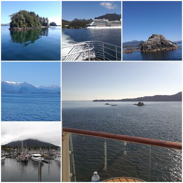 August 2019.....Cruising to Alaska ❤❤