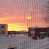 Beauty evening this evening in wabush