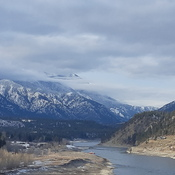Meeting of the Thompson and Fraser Rivers at Lytton