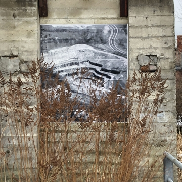 Mural at Toronto Brickworks