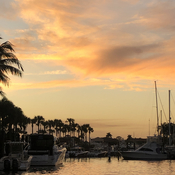 Sunset in Jupiter Florida