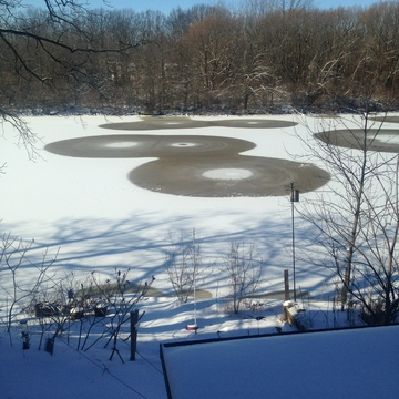 Welland River Ice Circles