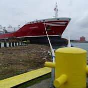 The Algonorth berthed in Sarnia