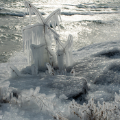 Ice Sculptures - Lake Ontario