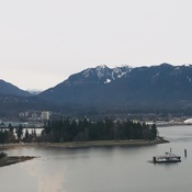 View of Stanley Park, Vancouver