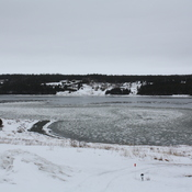The ice in Trepassey bay