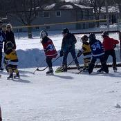 fun playing hockey