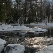 Icy Rapids on the Crow River