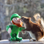 Reddie welcomes the Leprechaun