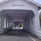 Grave Creek Covered Bridge