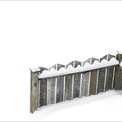 Fence, Elliot Lake.