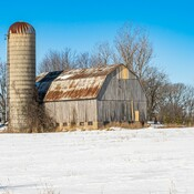 Rustic Landscape near Newburg ON