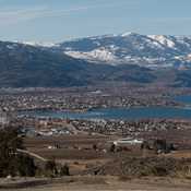 Sun shine in the Okanagan