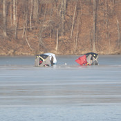 Still ice fishing !